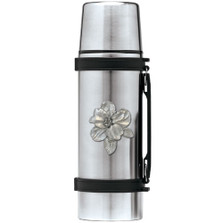 Apple Blossom Thermos | Heritage Pewter | HPITHS4278