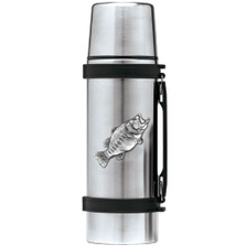 Bass Fish Thermos | Heritage Pewter | HPITHS4033