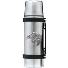 Bear Tribal Thermos | Heritage Pewter | HPITHS3999