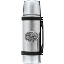 Bobwhite Quail Thermos | Heritage Pewter | HPITHS130