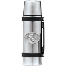 Cowboy Bullrider Thermos | Heritage Pewter | HPITHS4246
