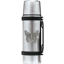 ButterflyThermos | Heritage Pewter | HPITHS4053