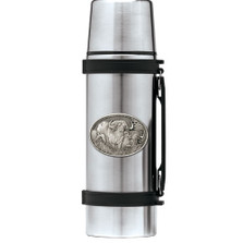 Cape Buffalo Thermos | Heritage Pewter | HPITHS121