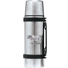 Cow Thermos | Heritage Pewter | HPITHS3790