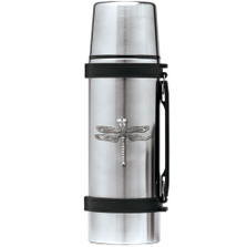 Dragonfly Thermos | Heritage Pewter | HPITHS4080
