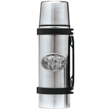 Elephant Thermos | Heritage Pewter | HPITHS120