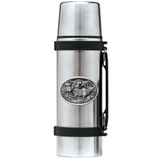 Elk Thermos | Heritage Pewter | HPITHS104