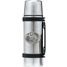 Leopard Thermos | Heritage Pewter | HPITHS137