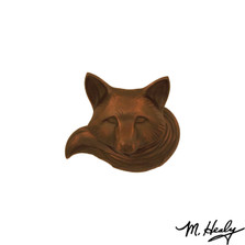 Fox Oiled Bronze Door Knocker | MHS94 | Michael Healy
