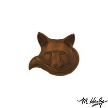 Fox Oiled Bronze Door Knocker | MHS94 | Michael Healy