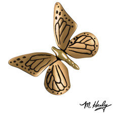 Butterfly Brass and Bronze Door Knocker | MH1001 | Michael Healy