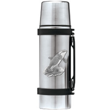 Orca Whale Thermos | Heritage Pewter | HPITHS4052