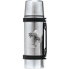 Palm Tree Thermos | Heritage Pewter | HPITHS4216