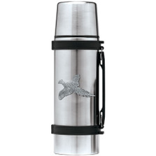 Pheasant Thermos | Heritage Pewter | HPITHS4036