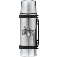 Pine Cone Thermos | Heritage Pewter | HPITHS3022