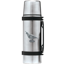 Quail Thermos | Heritage Pewter | HPITHS3140