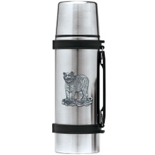 Tiger Thermos | Heritage Pewter | HPITHS3986