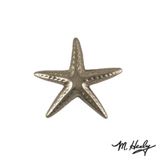 Starfish  Nickel Silver Door Knocker | MHS143 | Michael Healy