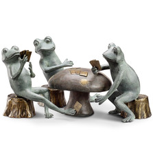 Frog Garden Sculpture Card Cheat | 34211 | SPI Home