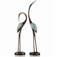 "Crane Sculptures ""Crane Song"" 