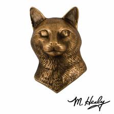 Cat Bronze Door Knocker | MHCAT01 | Michael Healy