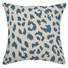 Cheetah Upholstered Pillow | Cheetah Print Pillow | CS065P-NY.20x20