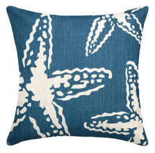 Star Fish Upholstered Pillow | Star Fish Pillow | CS105P-NY.20x20