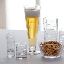 Fish Pilsner Glass Set of 4  | Rolf Glass | 600468
