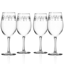 Lobster 18 oz Wine Glass Set of 4 | Rolf Glass | 342269