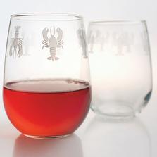Lobster Wine Tumbler Set of 4 | Rolf Glass | 342337-2