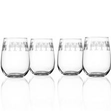 Lobster Wine Tumbler Set of 4 | Rolf Glass | 342337