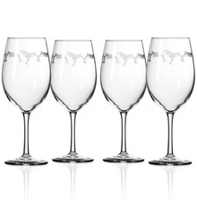 Dolphin 18 oz Wine Glass Set of 4 | Rolf Glass | 340265