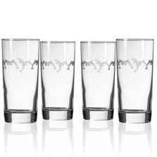 Dolphin Iced Tea Glasses Set of 4 | Rolf Glass | 340012