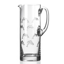 Dolphin Glass Pitcher | Rolf Glass | 340715
