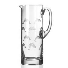Dolphin Glass Pitcher | Rolf Glass | 340715