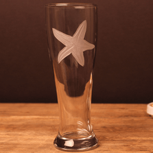 Starfish Pilsner Glass Set of 4  | Rolf Glass | 400464