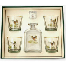 Trout Fish Decanter Set | Richard Bishop | 2039TRO