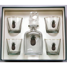 Pineapple Decanter Set | Richard Bishop | 2039PIN