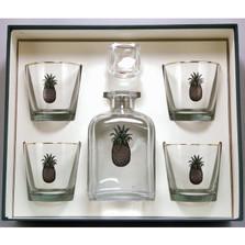Pineapple Decanter Set | Richard Bishop | 2039PIN