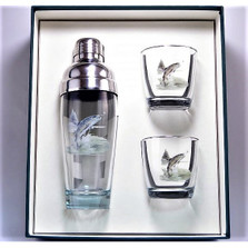 Trout Fish Cocktail Shaker Set | Richard Bishop | 2037TRO