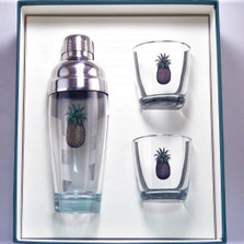Pineapple Cocktail Shaker Set | Richard Bishop | 2037PIN