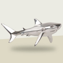 Shark Silver Plated Sculpture | A92 | D'Argenta