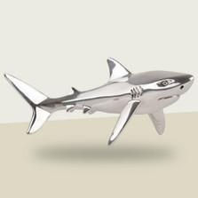 Shark Silver Plated Sculpture | A92 | D'Argenta