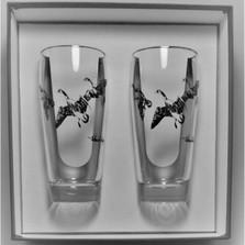 "Duck Beer Glass Set | ""Third Federal Duck Stamp"" | Richard Bishop | 2043THI"