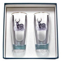 Deer Beer Glass Set | Richard Bishop | 2043DEE