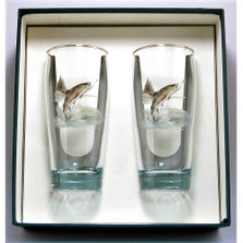 Trout Fish Beer Glass Set | Richard Bishop | 2043TRO