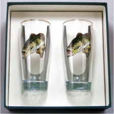 Bass Fish Beer Glass Set | Richard Bishop | 2043BAS