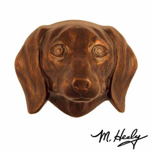 Dachshund Dog Aluminum Door Knocker | MHCDOG07 | Michael Healy