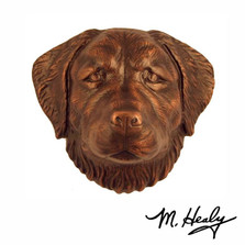 Golden Retriever Dog Aluminum Door Knocker | MHCDOG04 | Michael Healy