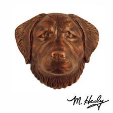Golden Retriever Dog Aluminum Door Knocker | MHCDOG04 | Michael Healy